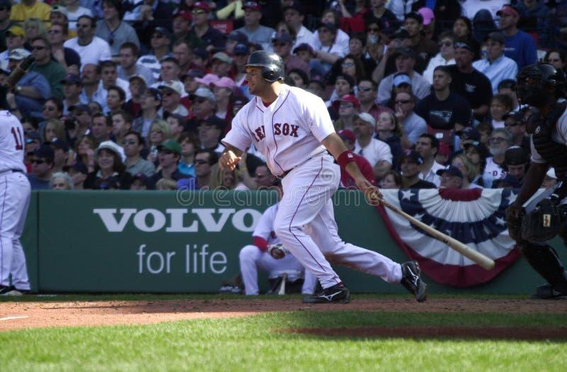 Doug Mirabelli. Red Sox C Doug Mirabelli. Image taken from color slide royalty free stock image