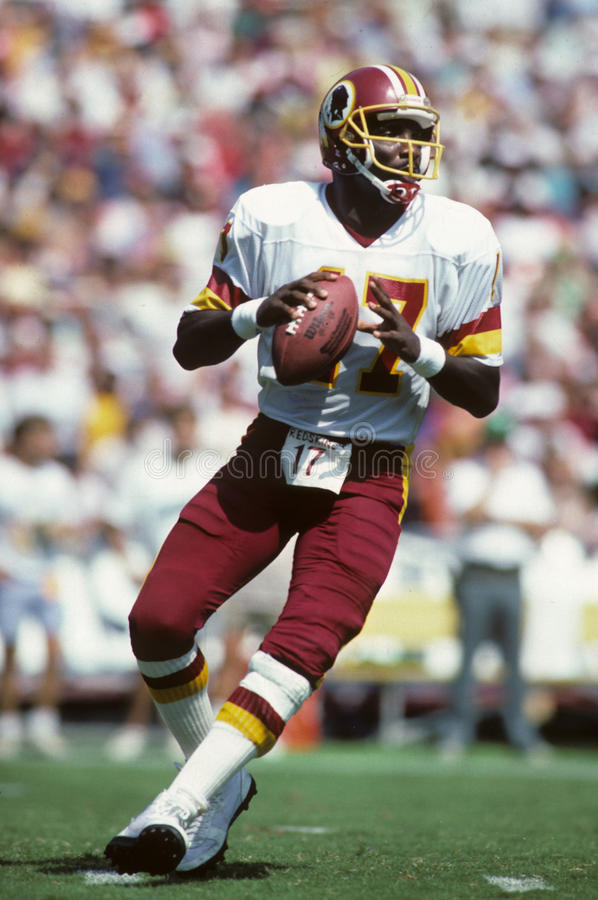Doug Williams, Washington Redskins fotos de stock