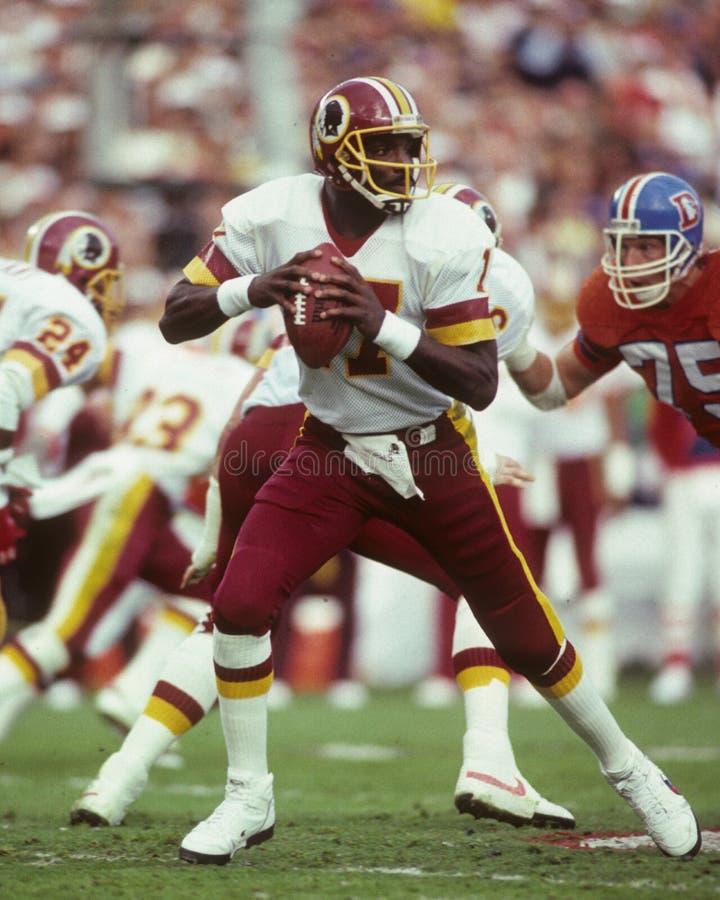 Doug Williams, Washington Redskins. Washington Redskins QB Doug Williams #17. image taken from color slide stock photography