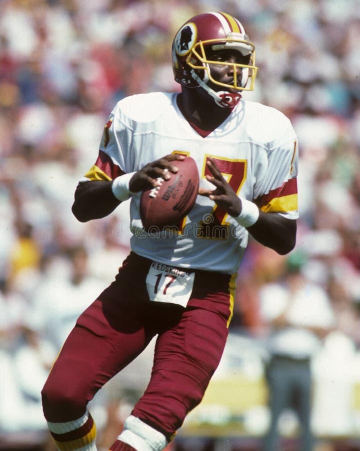 Doug Williams, Washington Redskins. Washington Redskins QB Doug Williams #17. image taken from color slide royalty free stock images