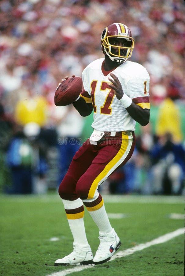 Doug Williams. Washington Redskins QB Doug Williams, #17. (Image taken from color slide royalty free stock photos