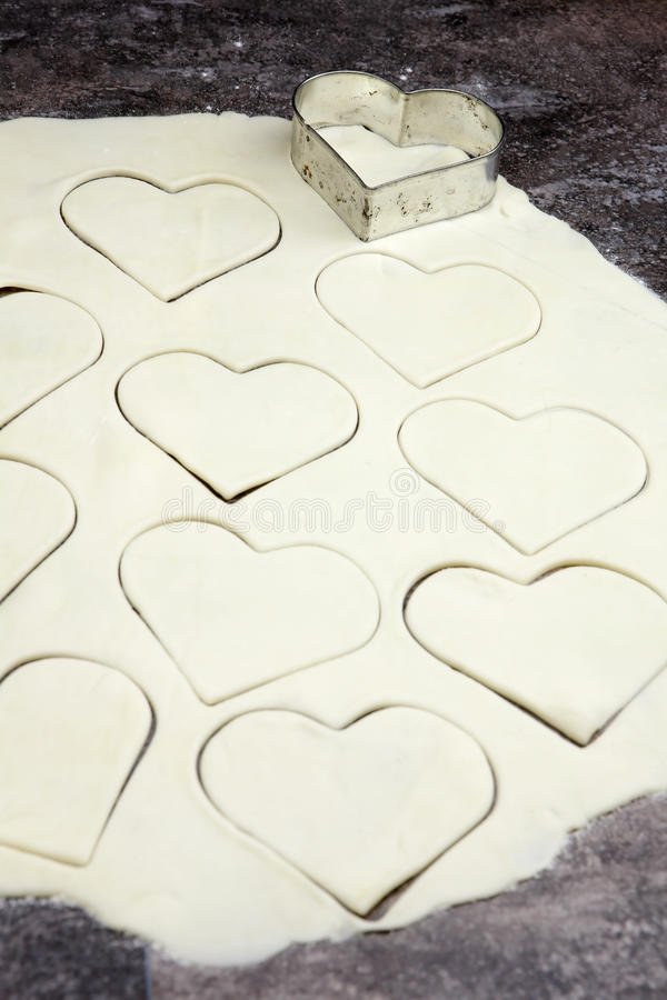 Dough For Biscuits Stock Photography
