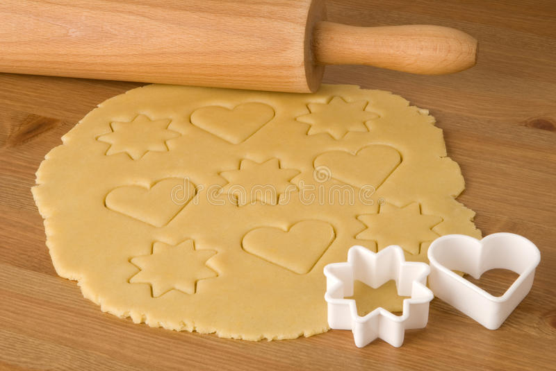 Download Dough For Christmas Cookies Stock Photo - Image: 15312668