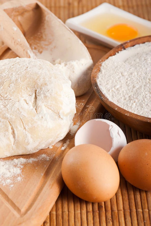 Free Dough For Making Bread Stock Photography - 17373822