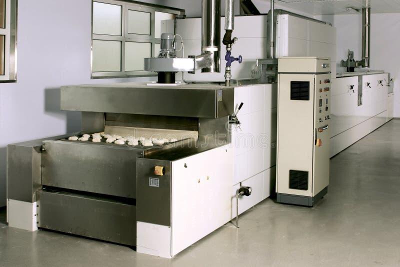 Dough industrial mixer stock image