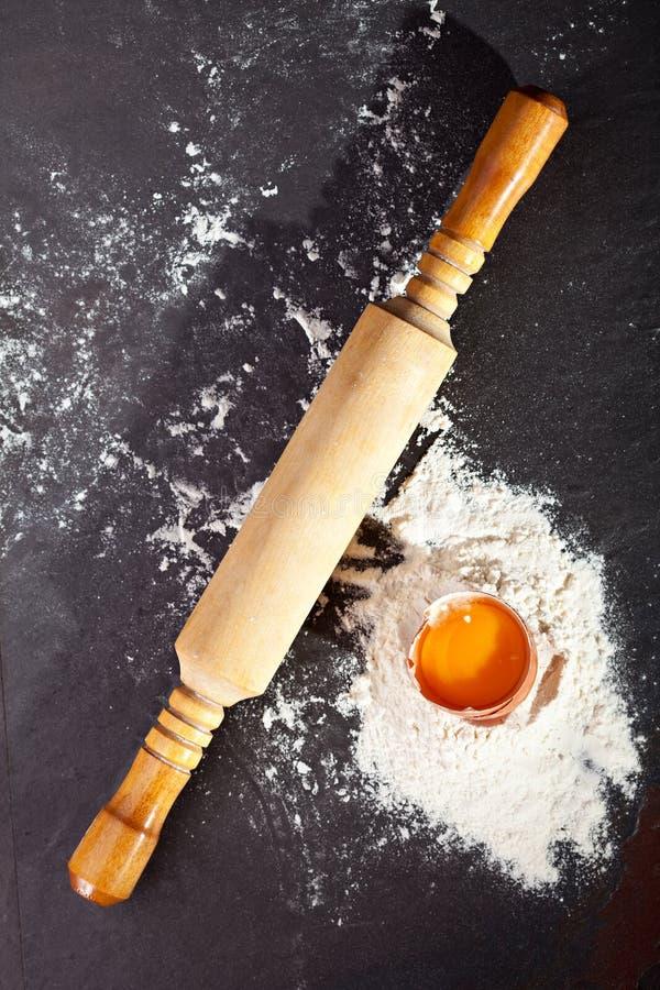 Dough Preparation royalty free stock photos