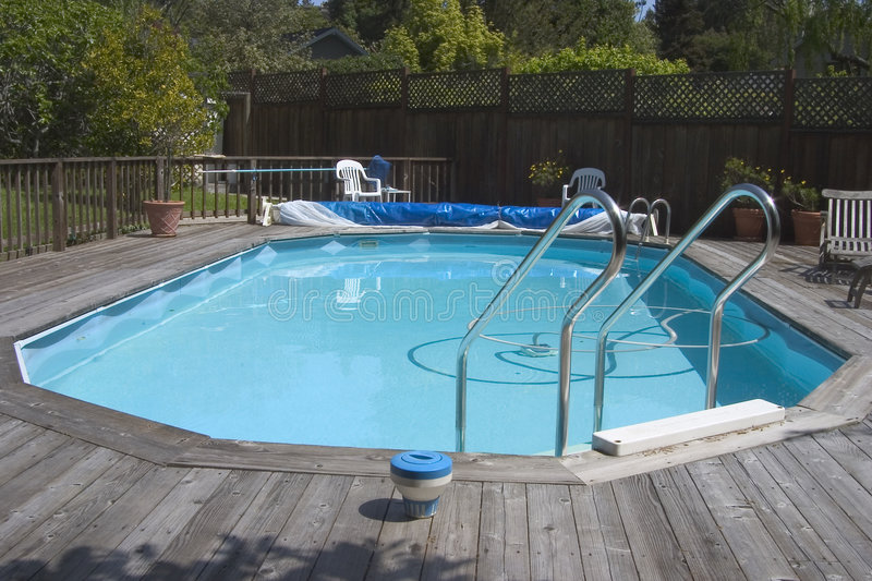 Doughboy Pool royalty free stock photography