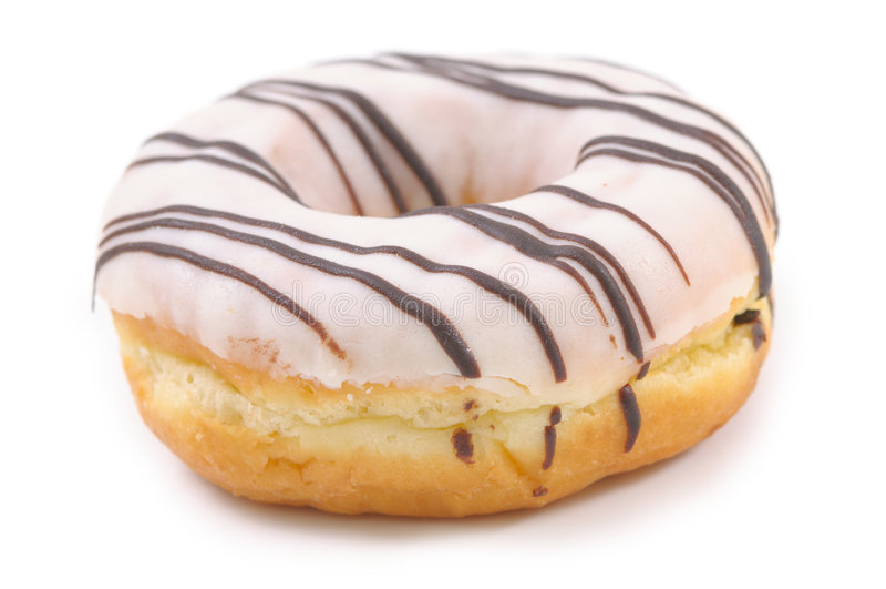 doughnut ενιαίο στοκ εικόνες