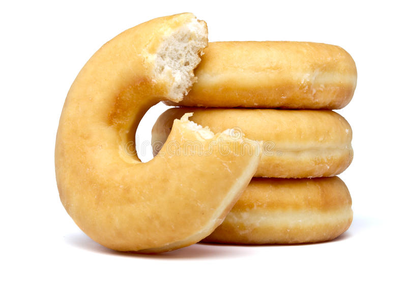doughnut στοίβα στοκ φωτογραφία με δικαίωμα ελεύθερης χρήσης