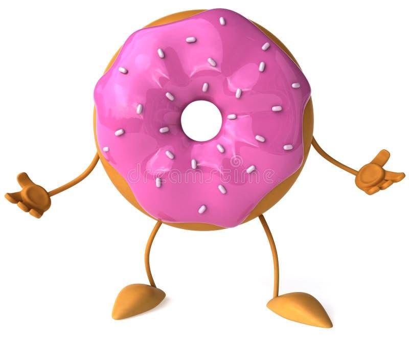Doughnut vector illustratie