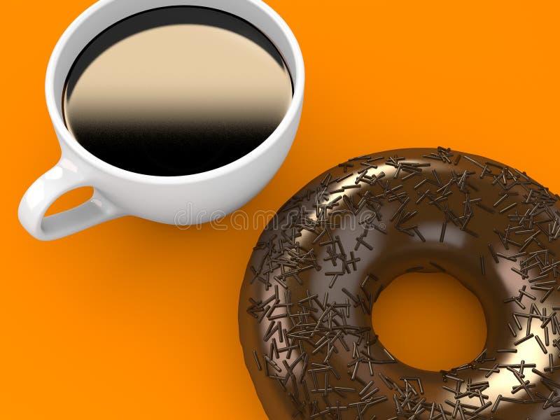 Doughnut royalty-vrije illustratie