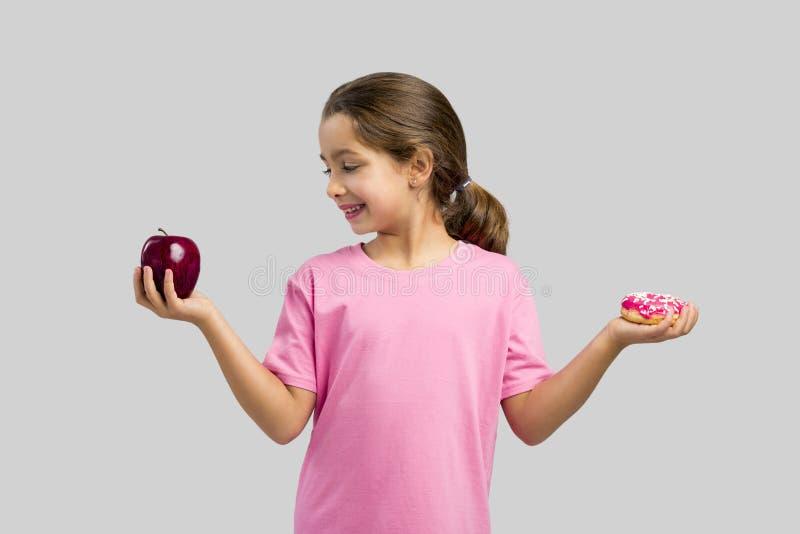 Doughnut of Apple stock fotografie