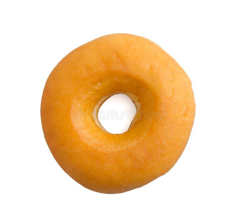 Doughnut die op wit wordt geïsoleerdl royalty-vrije stock foto