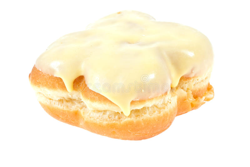 Download Doughnut on isolated stock image. Image of frosting, sticky - 38886317