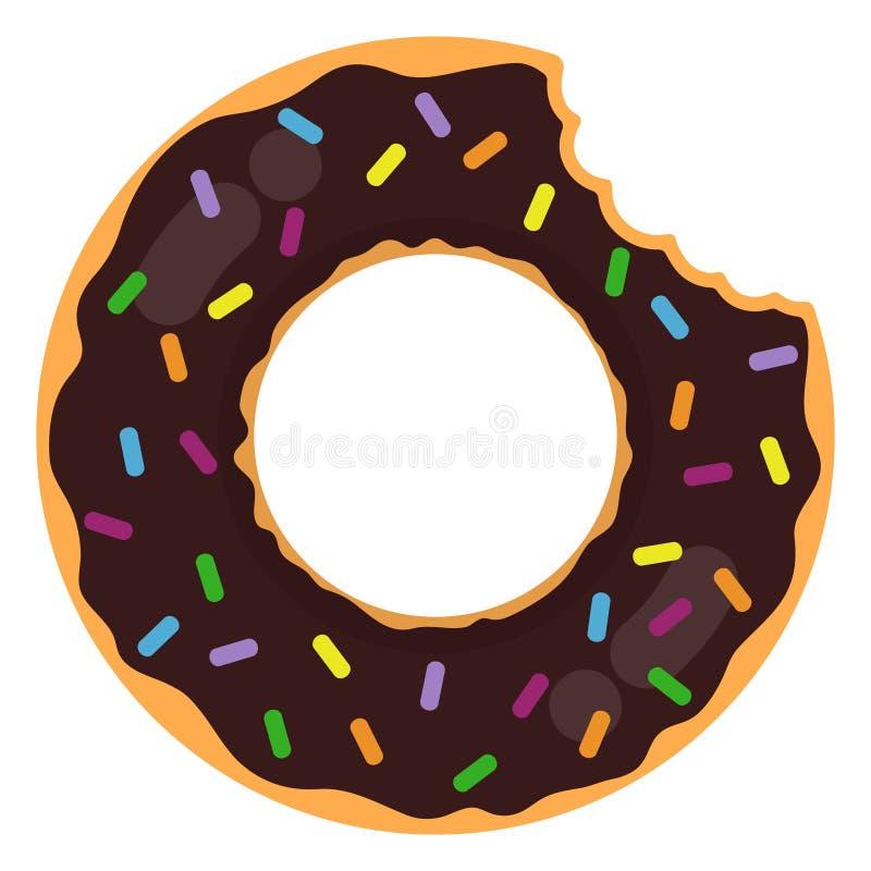 Doughnut Ring Float vector illustratie