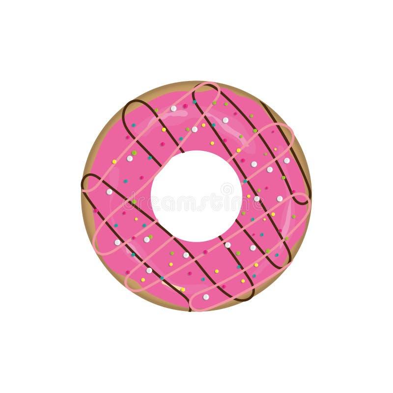 doughnutpictogram stock foto's