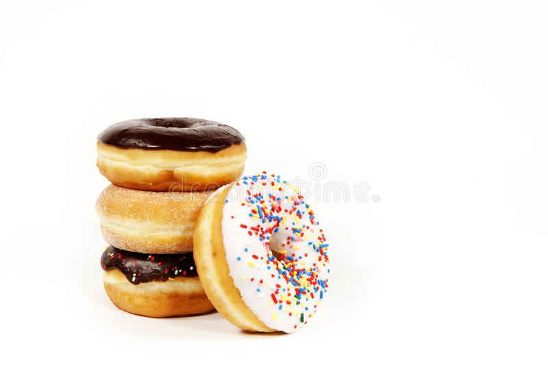 Download Doughnuts stock image. Image of frosted, sprinkles, gould - 33093125