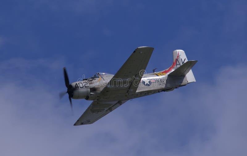 Douglas AD-4NA Skyraider imagen de archivo
