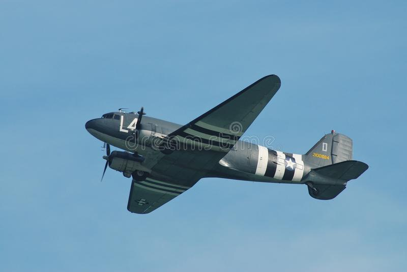 Douglas C-47A Dakota aircraft stock images