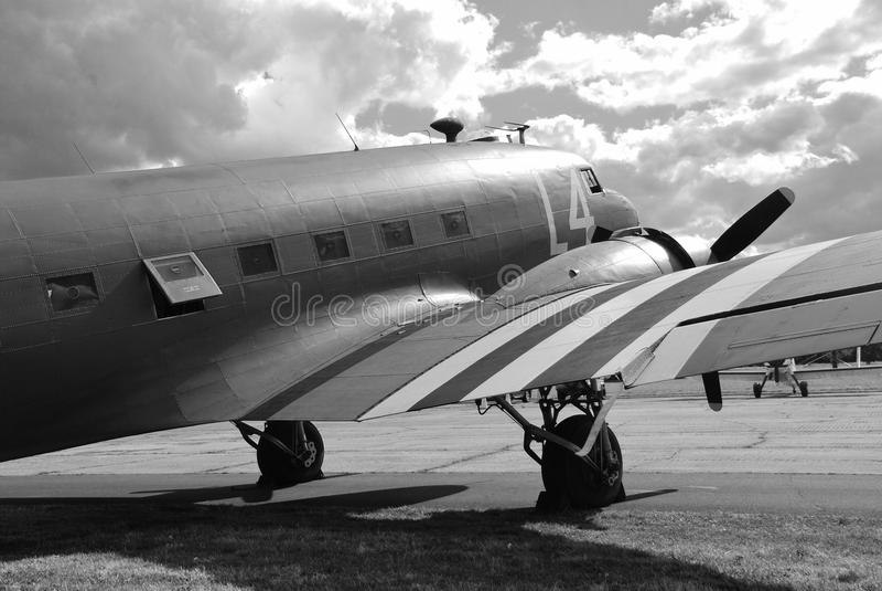 Douglas c-47a Dakota fotografia stock libera da diritti