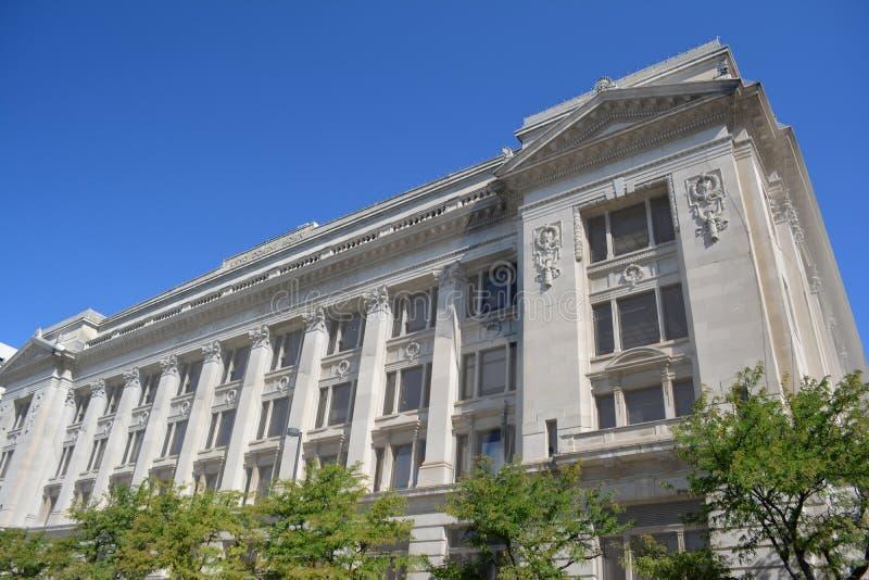 Douglas County Courthouse-Omaha, Nebraska stockbilder