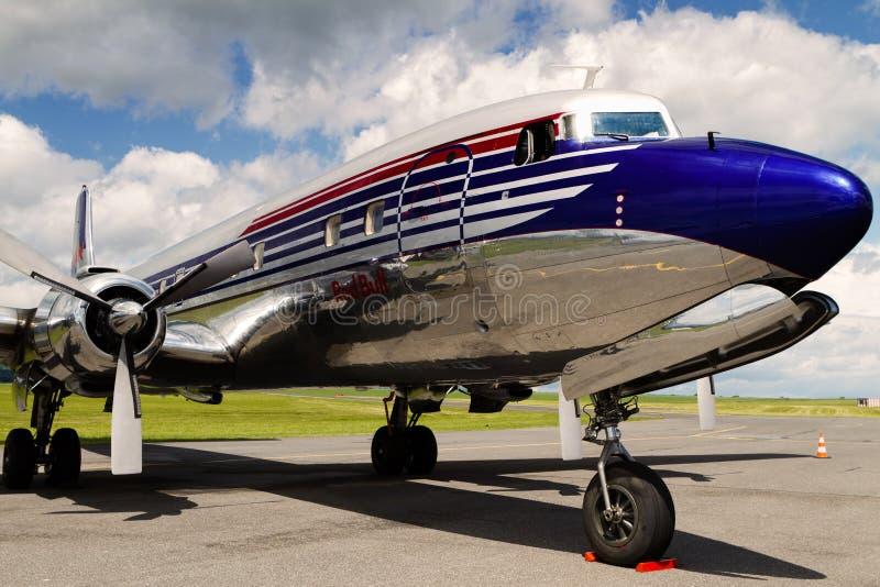 Douglas DC-6B lizenzfreie stockfotografie