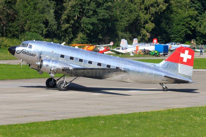 Douglas DC-3C Vintage airliner N431HM immagini stock