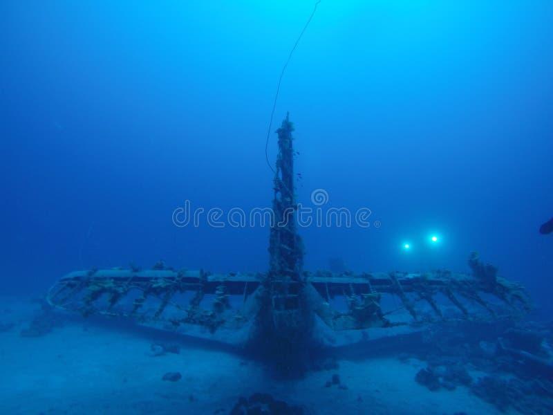 Douglas Devastator Plane Wreck arkivbilder