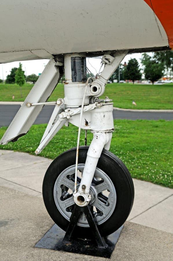 Douglas f5d skylancer nose landing gear royalty free stock photos