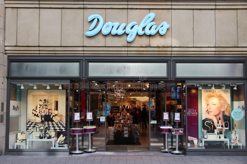 Douglas-Shop stockfoto