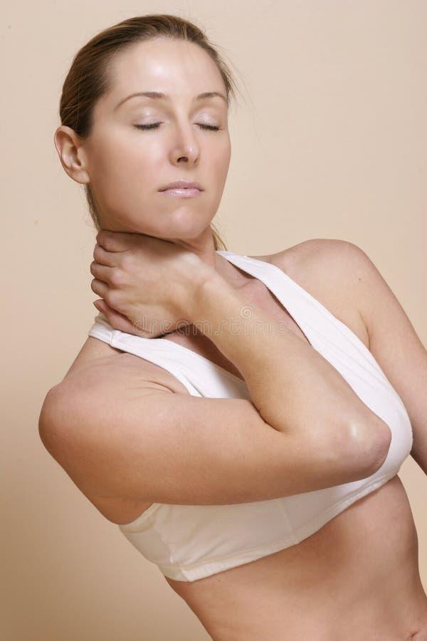 Douleur Cervicale Images libres de droits