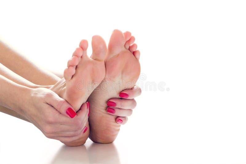 Douleurs articulaires dans jambes photo stock