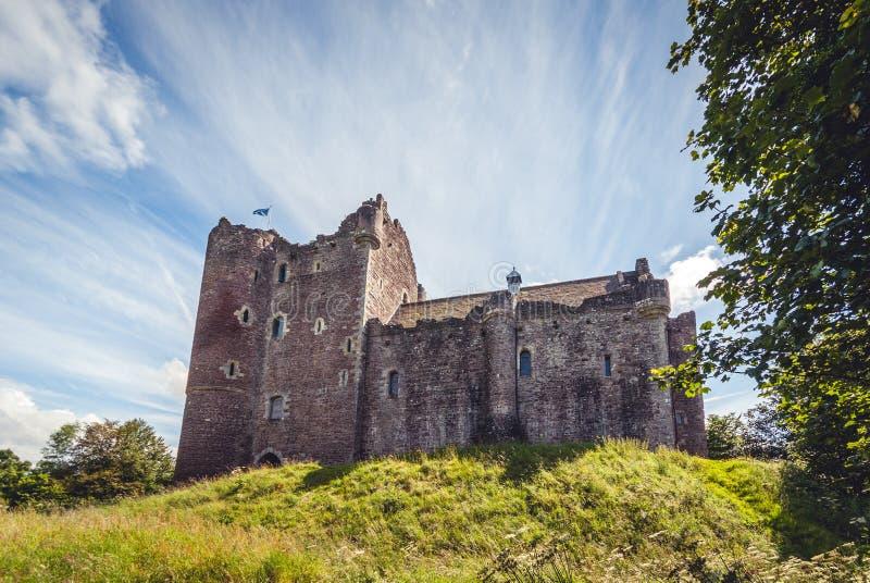 Doune Castle στη Σκωτία στοκ φωτογραφία