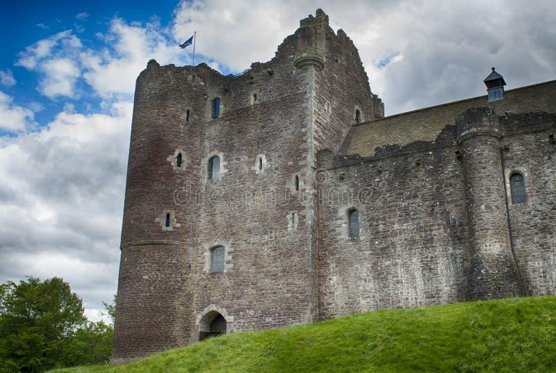 Doune castle stock photos