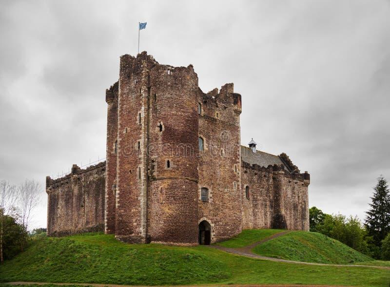 Doune slott arkivbild