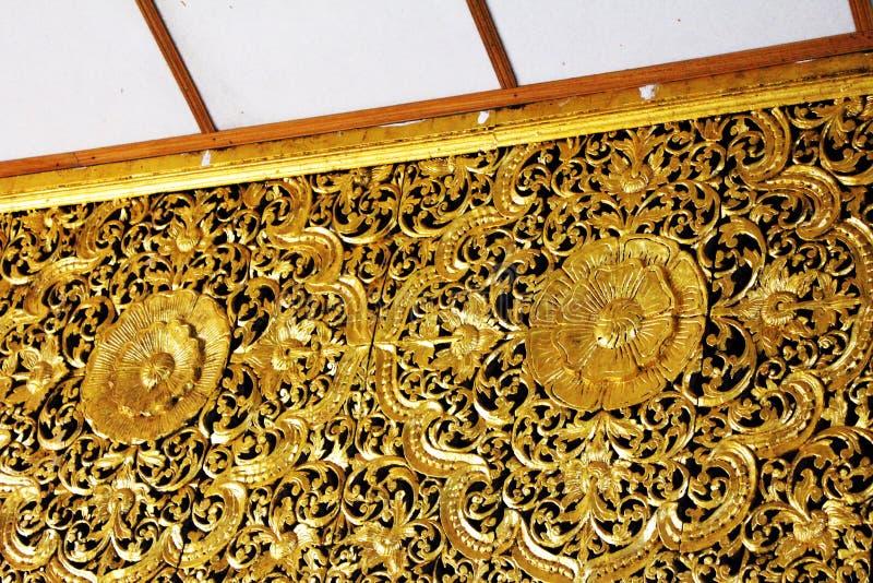 Dourados bonitos decoram fotografia de stock