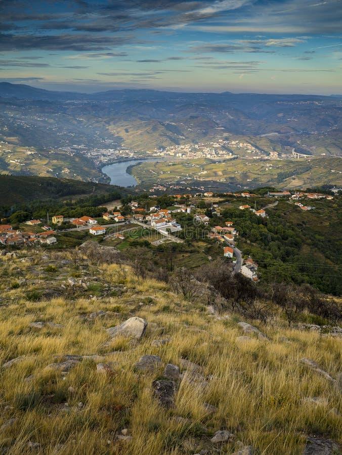 Douro dolina zdjęcia royalty free