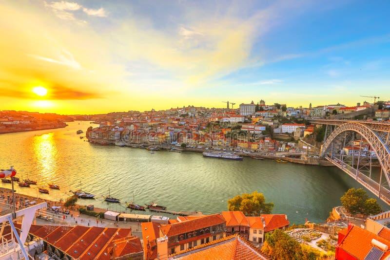 Dourorivier Porto stock afbeelding