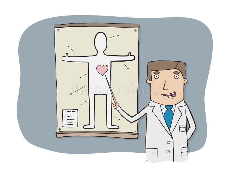 Doutor ilustração royalty free