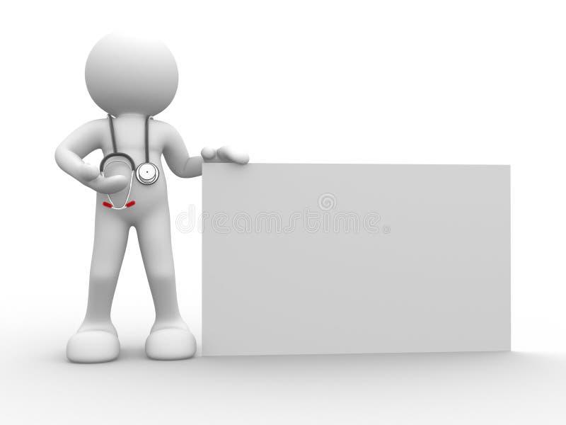 Doutor ilustração do vetor