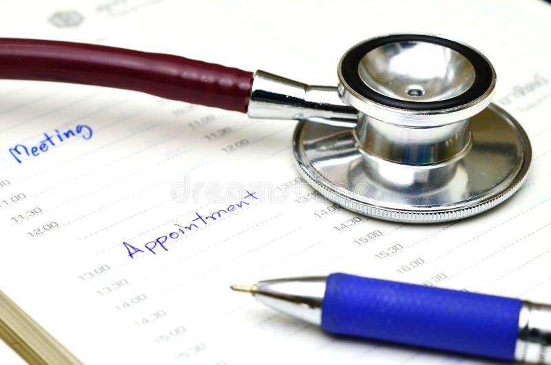 Doutor Appointment foto de stock royalty free
