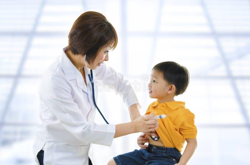 Doutor das crianças imagem de stock royalty free
