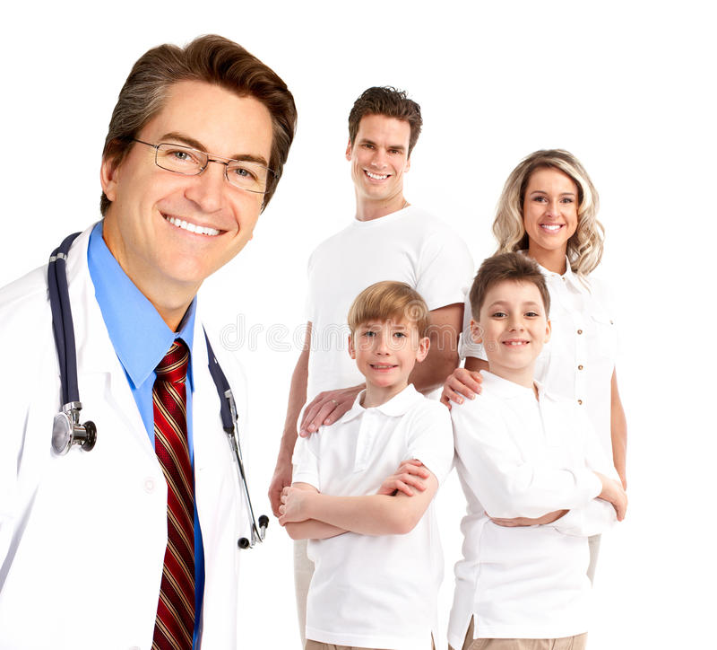 Doutor de família foto de stock royalty free