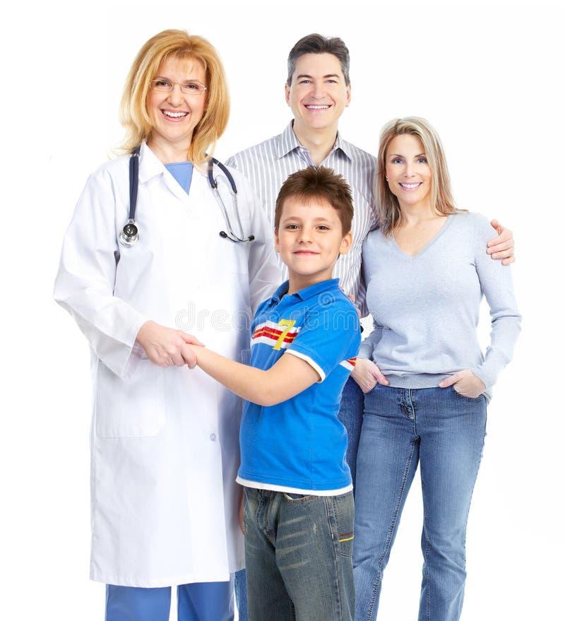 Doutor de família imagens de stock royalty free