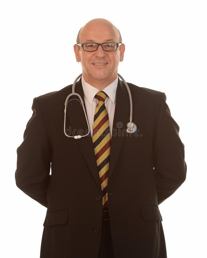 Doutor de sorriso fotos de stock