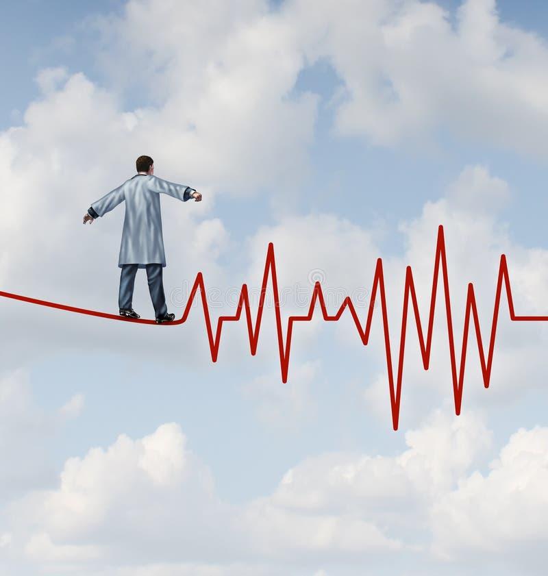 Doutor Diagnosis Danger ilustração royalty free