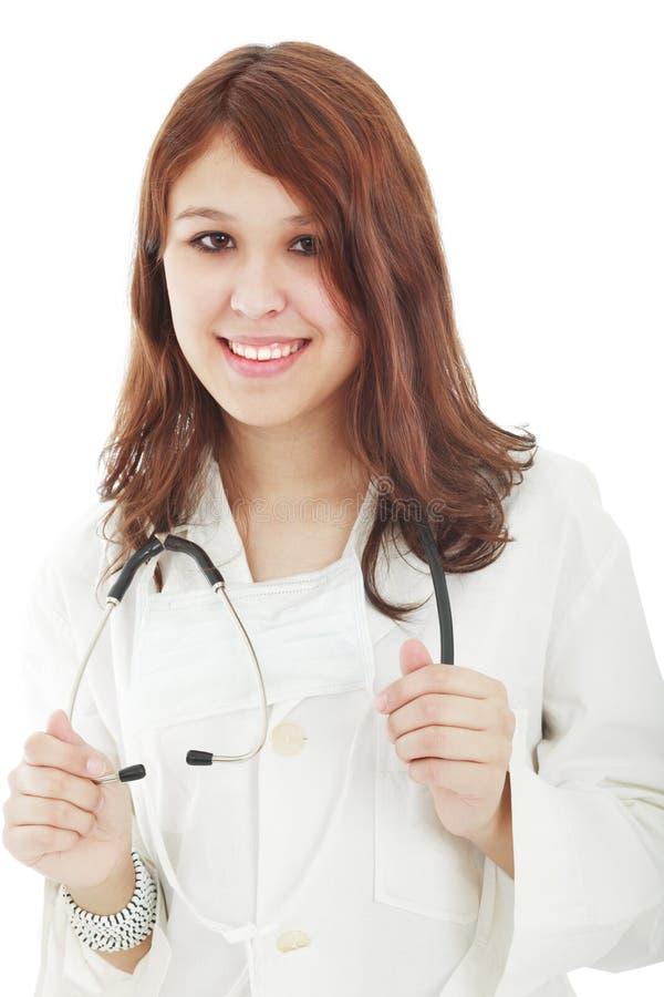 Doutor do procedimento foto de stock