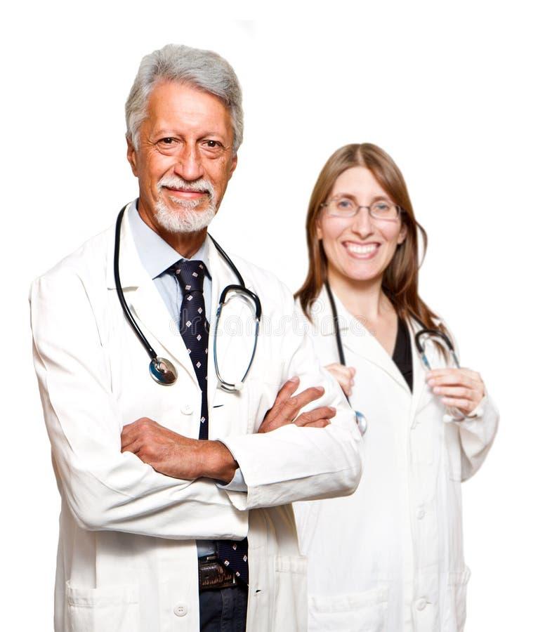 Doutor e enfermeira imagens de stock royalty free