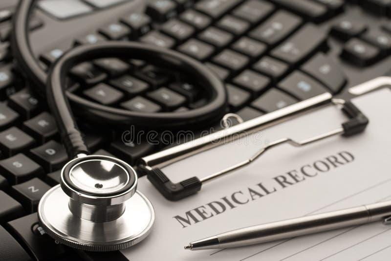 Doutor em linha fotos de stock