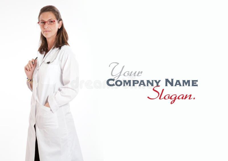Doutor fêmea amigável foto de stock royalty free